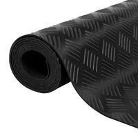 vidaXL Covor anti-alunecare, 1,5 x 4 m, cauciuc, 3 mm, striat