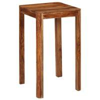vidaXL Masă de bar, 60 x 60 x 107 cm, lemn masiv de palisandru