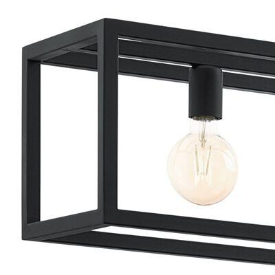 """EGLO Lampă suspendată  """"ELSWICK"""" 3x60 W, negru 49564"""