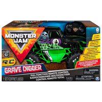 Monster Jam Camion Grave Digger cu comandă radio 1:15