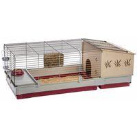 Ferplast Cușcă de iepuri Krolik 140 Plus, 142x60x50 cm, 57072570