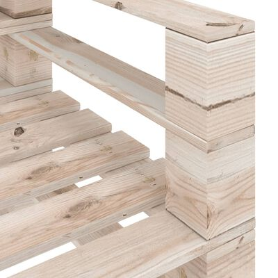vidaXL Set mobilier grădină din paleți, 6 piese, cu perne, lemn de pin