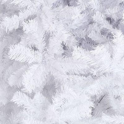 vidaXL Brad de Crăciun artificial, alb, 300 cm