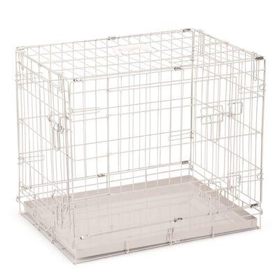 Beeztees Cușcă de câine, gri, 62 x 44 x 49 cm