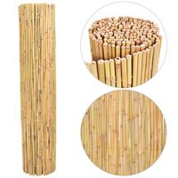 vidaXL Gard din bambus, 250 x 170 cm