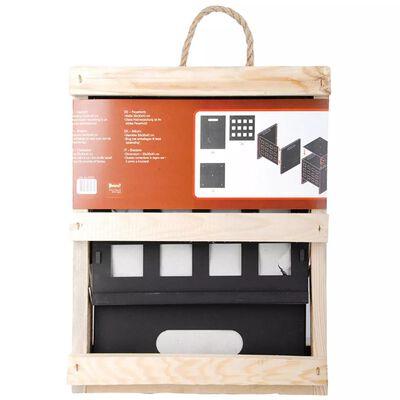 Esschert Design Coș pentru foc, pătrat FF87