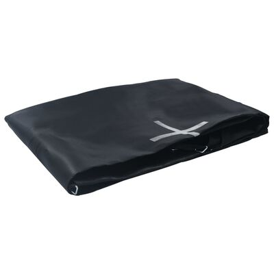vidaXL Podea din pânză pentru trambulină rotundă de 4,27 m, negru