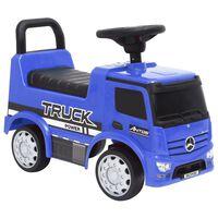 vidaXL Mașinuță pentru primii pași Mercedes-Benz, albastru