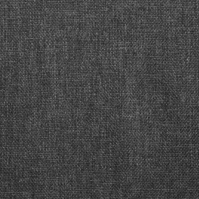 vidaXL Scaune de bucătărie pivotante, 4 buc., gri închis, textil