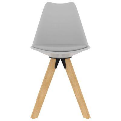 vidaXL Set mobilier de bucătărie, 3 piese, gri