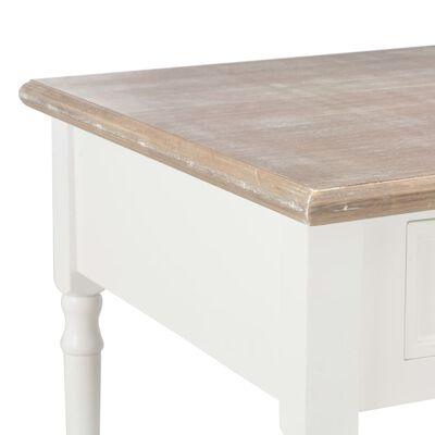 vidaXL Măsuță de cafea, alb, 100 x 55 x 45 cm, lemn