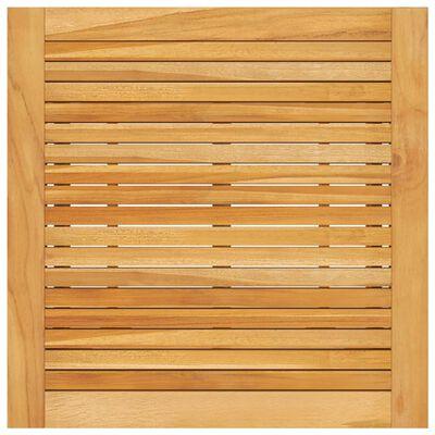 vidaXL Set mobilier de bar de grădină, 5 piese, maro