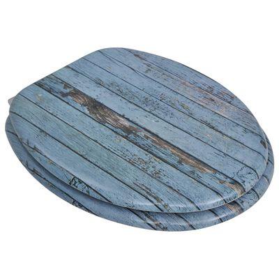 vidaXL Capace WC, 2 buc., MDF, model lemn vechi
