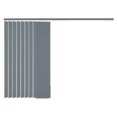 vidaXL Jaluzele verticale din material textil, 150 x 180 cm, gri
