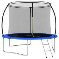 vidaXL Set trambulină rotundă, 305 x 76 cm, 150 kg