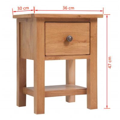 vidaXL Set mobilier sufragerie, 5 piese, stejar masiv