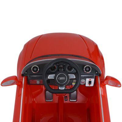 vidaXL Mașină electrică Audi A3 cu telecomandă, roșu