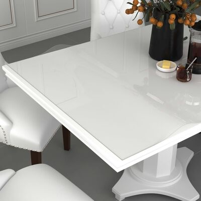 vidaXL Folie de protecție masă, transparent, 200 x 100 cm, PVC, 2 mm