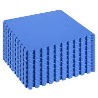 Covor Puzzle 32 Piese 63x63cm In Eva Moale Albastru