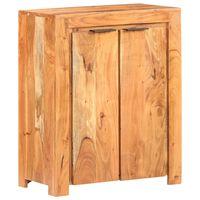 vidaXL Servantă, 59 x 33 x 75 cm, lemn masiv de acacia