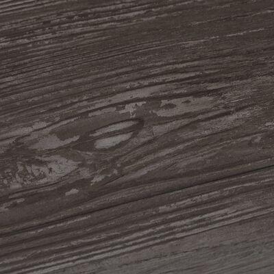 vidaXL Plăci de pardoseală, lemn dungi, 5,26 m², PVC, 2 mm
