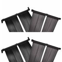 vidaXL Panou încălzitor solar pentru piscină, 4 buc., 80x620 cm