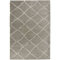 Covor Mint Rugs Shaggy Allure, Gri, 160x230