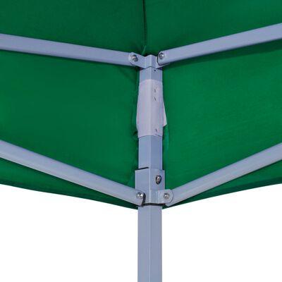 vidaXL Acoperiș pentru cort de petrecere, verde, 4,5 x 3 m, 270 g/m²