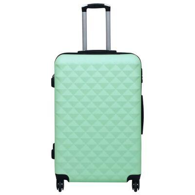 vidaXL Set de valize cu carcasă rigidă, 2 piese, verde mentă, ABS