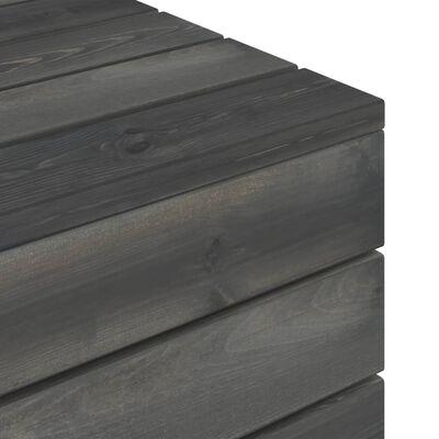 vidaXL Set mobilier grădină paleți cu perne 6 piese lemn masiv pin