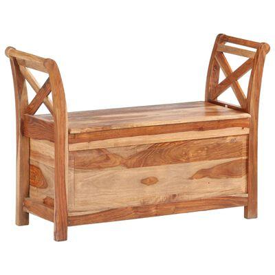 vidaXL Bancă, 103 x 33 x 72 cm, lemn masiv de sheesham