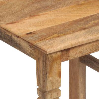 vidaXL Scaune de bucătărie, 2 buc., lemn masiv de mango