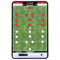Pure2Improve Planșă tactică cu două fețe antrenor de fotbal 35 x 22 cm