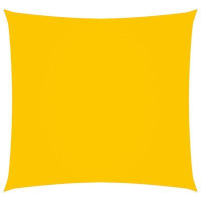 vidaXL Parasolar, galben, 4,5x4,5 m, țesătură oxford, pătrat