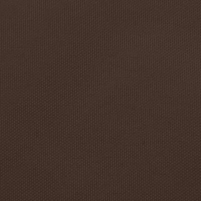 vidaXL Parasolar, maro, 2x2 m, țesătură oxford, pătrat