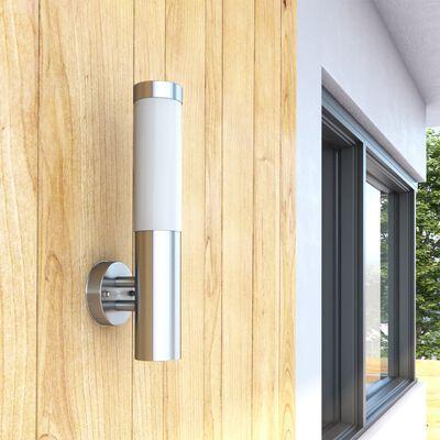 Lampă RVS rezistentă la apă pentru interior și exterior 11 x 35 cm