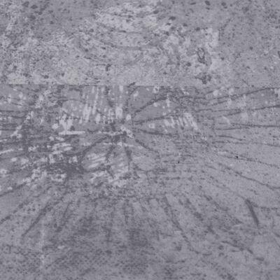 vidaXL Plăci de pardoseală autoadezive, gri ciment, 5,02 m², PVC, 2 mm