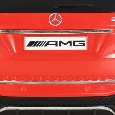 vidaXL Mașinuță copii Mercedes Benz GLE63S, roșu, plastic