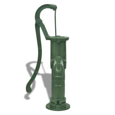 vidaXL Pompă de apă de grădină cu suport, fontă