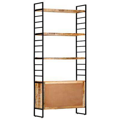 vidaXL Bibliotecă cu 4 rafturi 80x30x180 cm lemn masiv mango nefinisat