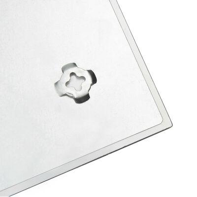 vidaXL Tablă magnetică de perete, 60 x 40 cm, sticlă