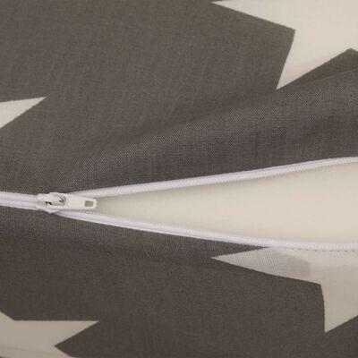 vidaXL Saltea din spumă, pliabilă, gri, 190 x 70 x 9 cm