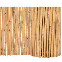 vidaXL Gard din bambus, 500 x 50 cm