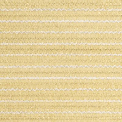 vidaXL Covor pentru cort, bej, 300x600 cm