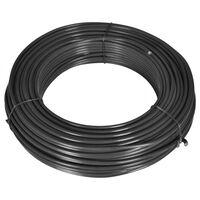 vidaXL Fir de tensionare pentru gard, 80 m, 2,1/3,1 mm, oțel, gri