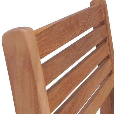 vidaXL Scaune de grădină cu perne bej, 2 buc., lemn masiv de tec