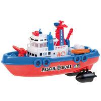 Happy People Jucărie barcă de salvare RC cu telecomandă