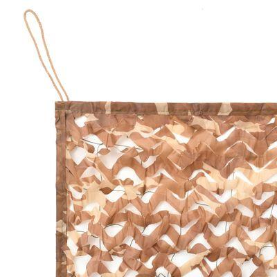 vidaXL Plasă de camuflaj cu geantă de depozitare, 1,5 x 10 m