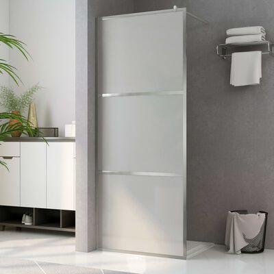 vidaXL Paravan de duș walk-in, 90 x 195 cm, sticlă ESG mată