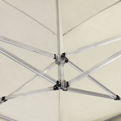 vidaXL Cort de petrecere pliabil profesional, crem, 6 x 3 m, aluminiu, Crem